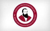 Logo I Liceum Ogólnokształcącego im. Jana Kochanowskiego w Olecku