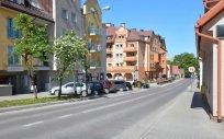 Ulica Armii Krajowej w Olecku