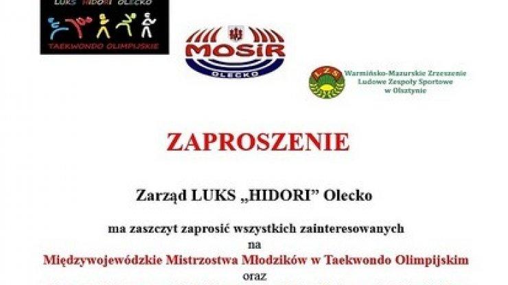 Mistrzostwa w Taekwondo Olimpijskim – zaproszenie