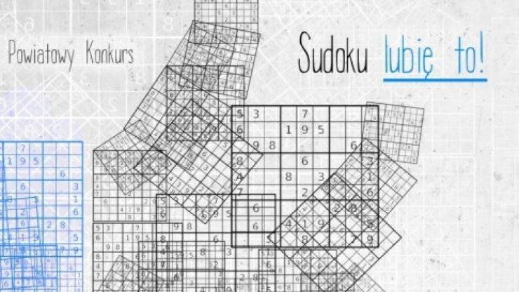 Sudoku LUBIĘ TO – etap szkolny
