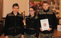 Strzelcy z ZSLiZ w Olecku na podium
