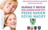 Kampania - program szczepienia przeciw wirusowi HPV